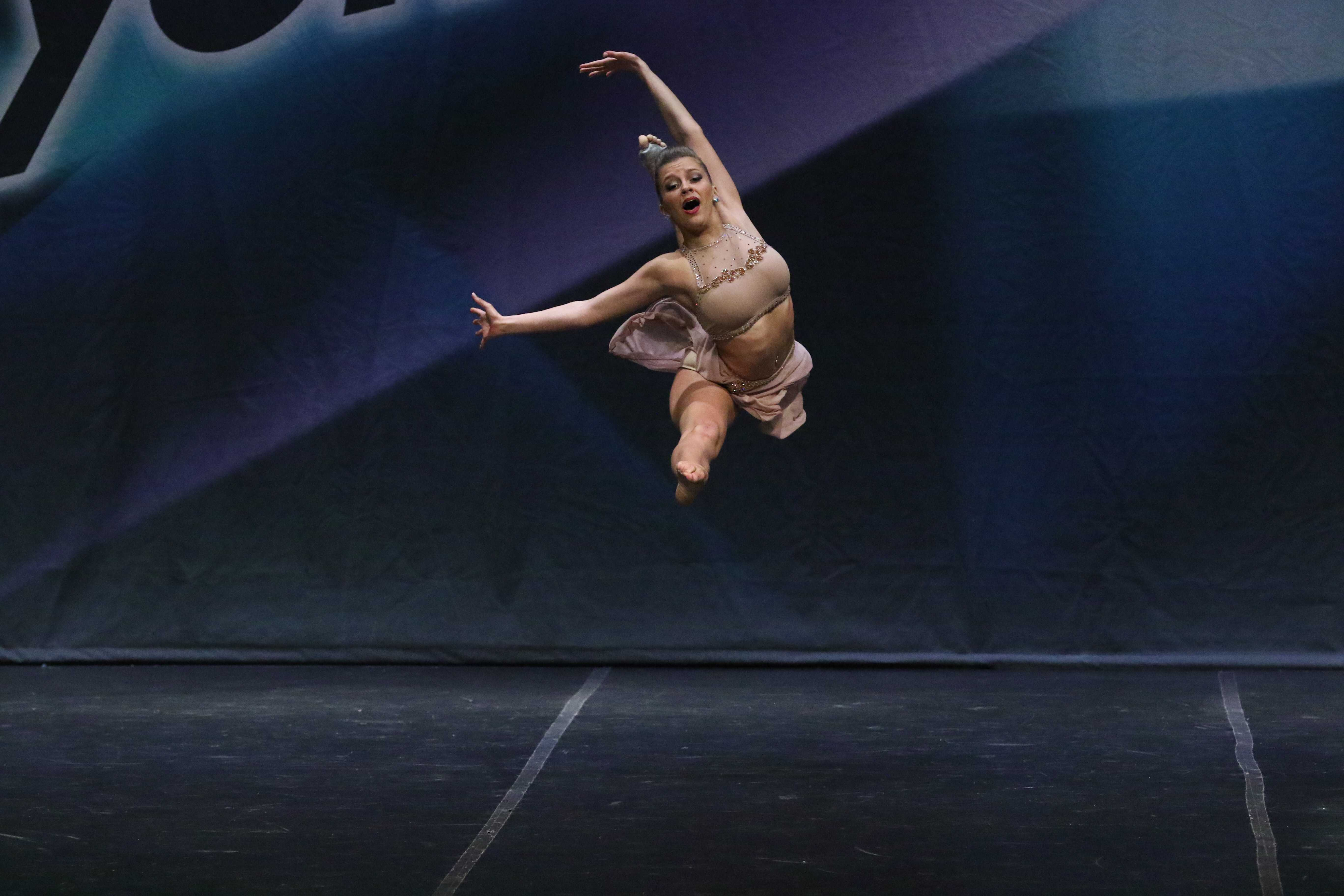 Gianna Newborg: Dedicated student, competitor, dancer