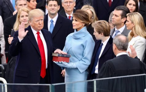 Trump inauguration makes history