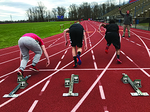 Despite obstacles, track team holds high standards for season