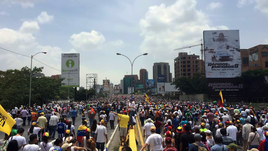 Known+as+the+Mother+of+All+Marches%2C+Venezuelans+protested+President+Nicolas+Maduro+and+his+administration+in+response+to+the+Supreme+Tribunal+of+Justice+dissolving+the+National+Assembly.+