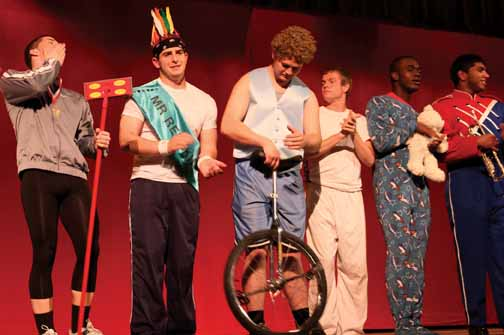 Male pageant raises money, evokes laughter