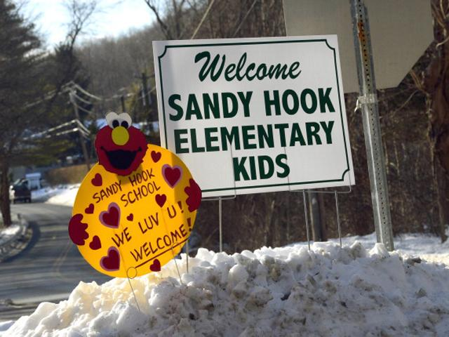 Sandy Hook takes steps to recovery