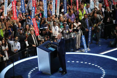 Bill Clinton, ex-president and husband to current Democratic Nominee Hillary Clinton, spoke in place of his wife at the Democratic Convention on July 26th Photo/Grace Marion