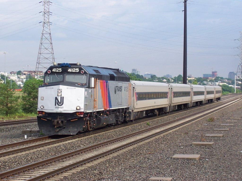 New Jersey runs trains on a  daily basis throughout the state.