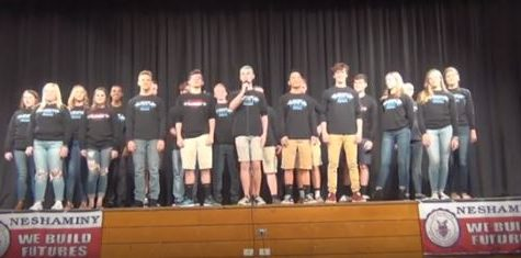 Select choir opens for Vocalosity