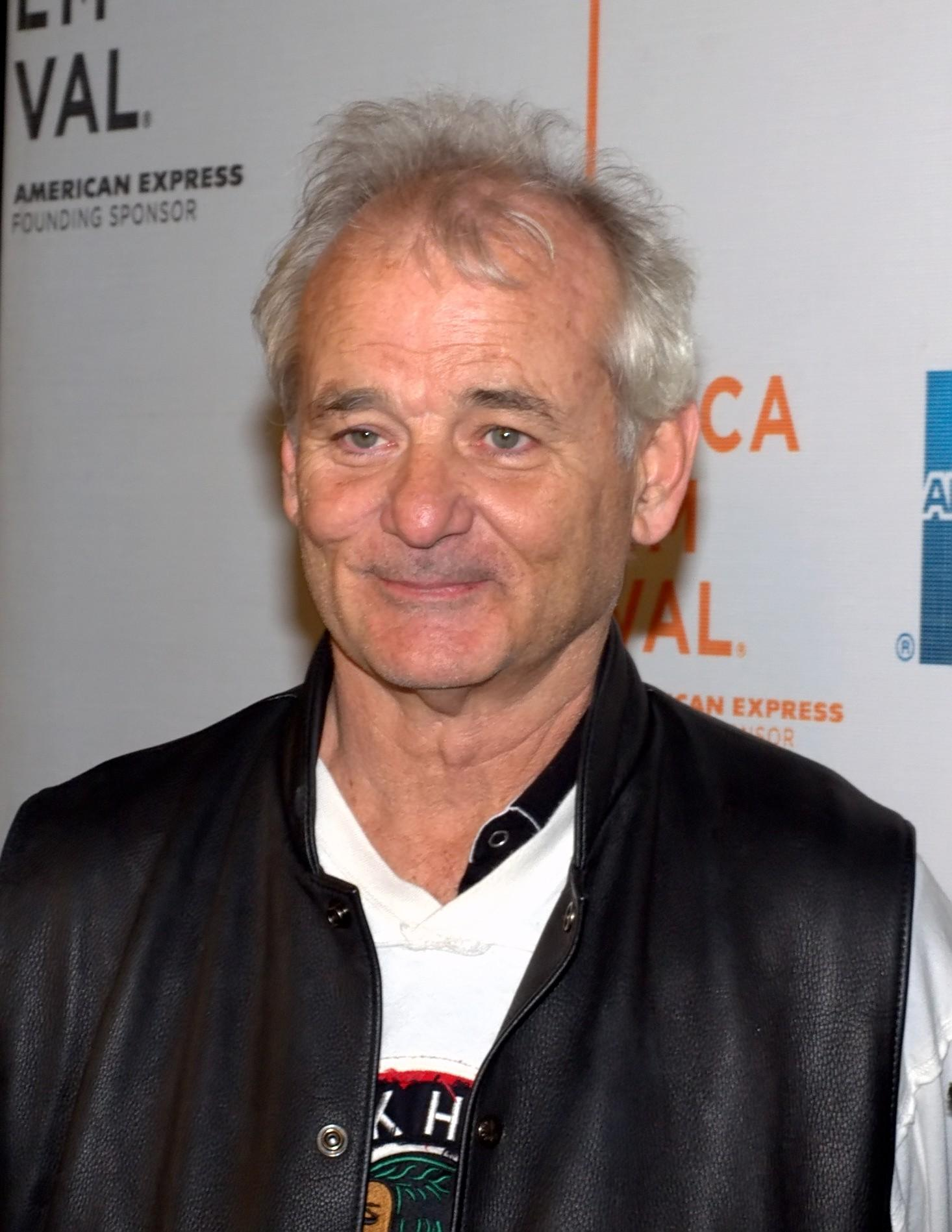Actor/comedian Bill Murray was recognized for his comedic work.