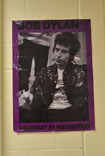 Bob Dylan receives Nobel Prize