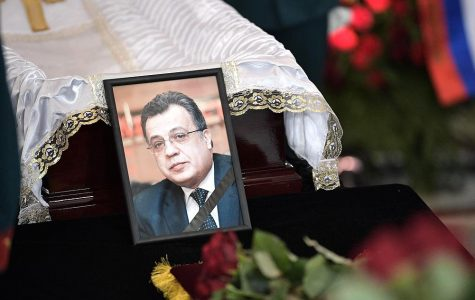 Russian ambassador murdered