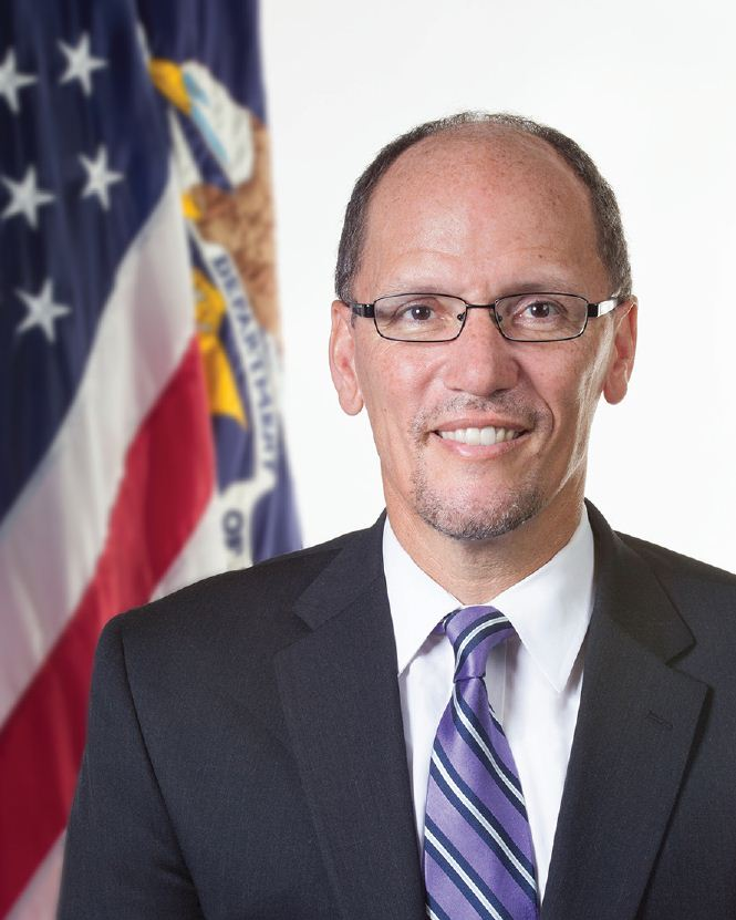 Secretary+of+Labor+Thomas+Perez+won+the+Democratic+National+Committee+%28DNC%29+chairmanship+election+Feb.+25.+