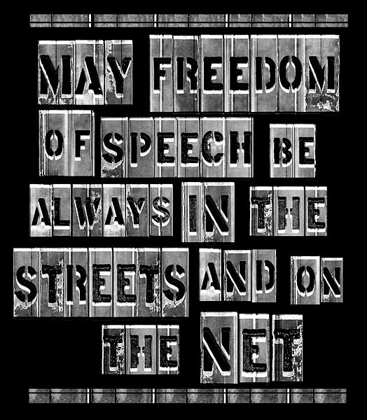 Freedom of speech is essential to democracy but cannot be used to justify hatred and discrimination.
