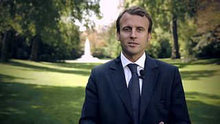 French President Emmanuel Macron was former banker and bureaucrat before entering the presidential race.