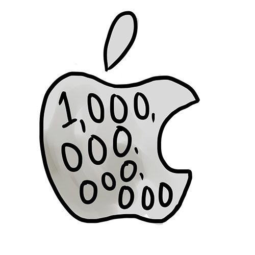Apple becomes first company to be worth $1 trillion
