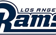 The official logo of the Los Angeles Rams football team