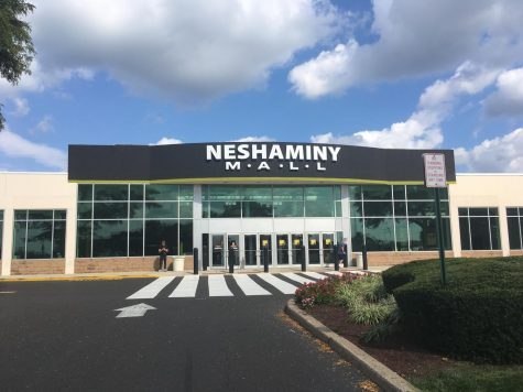What is tearing apart Neshaminy Mall?