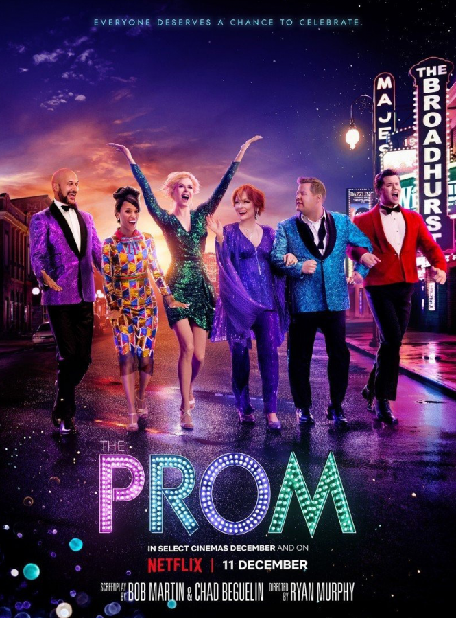 """Opinion: """"The Prom"""" shatters glass ceilings, with love, acceptance, and neon lights"""